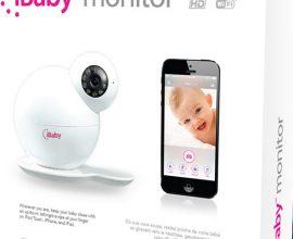 iBaby M6, Wi-Fi Video Baby Monitor, Night Vision, Music Player
